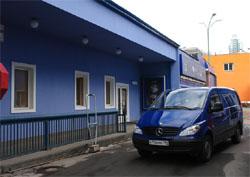 Один из автомобилей автопарка Аудиомании. Доставка по Москве